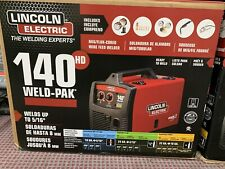 Lincoln Electric K2514 1 140 Amp Weld Pak 140 Hd Mig Wire Feed Welder New Sealed