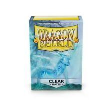 Dragon Shield Sleeves Matte Card Game Clear