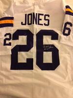 Vikings Clint Jones signed Jersey w/COA
