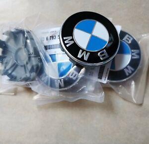 OEM for fit BMW Wheel Center Hub Cap 68mm Rim Cover Genuine Logo Emblem Alloy
