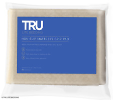 TRU Lite Bedding Non Slip Mattress Pad - Grip Pad Locks in Place - Non Slip Mat