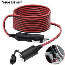 12/24V 17AWG Zigarettenanzünder Stecker mit kabel KFZ Auto Verlängerungskabel