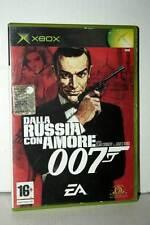 007 DALLA RUSSIA CON AMORE GIOCO USATO OTTIMO XBOX ED ITALIANA PAL FR1 40003
