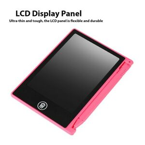 4.5in LCD Handwriting Writing Tablet Drawing Board For Kids Graphics Notepad FOY