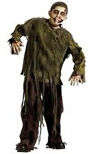 Dark Zombie Costume for Boys size 8-10 New by Fun World 130792