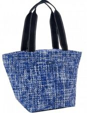SCOUT Daytripper Shoulder Tote Beach Bag Blue White East Of Tweeden Pattern NWT