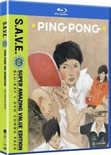 Ping Pong The Animation: The Complete Series - S.A.V.E. [New Blu-ray] With DVD