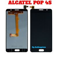 DISPLAY LCD+TOUCH SCREEN per ALCATEL ONE TOUCH POP 4S OT-5095 VETRO NERO SCHERMO