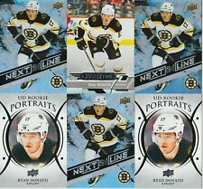 RYAN DONATO RC LOT 2018-19 UPPER DECK OVERTIME ROOKIE #107 NEXT IN LINE PORTRAIT