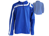 Uhlsport Training-Top Progressiv 1/4 Zip-Jersey blau Fußballshirt Gr.XXL