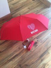 genuine love moschino umbrella bnwt rrp£55