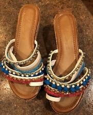 Vintage HAVANA Women's Wedge Sandal Sz 9.5