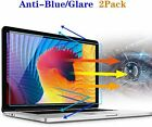 2Pack Anti Blue Light Glare Laptop Screen Filter Protector for MacBook Laptop