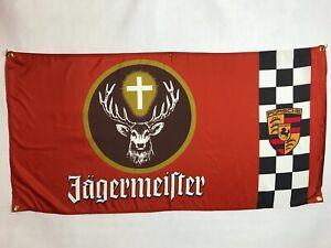 Jägermeister Porsche Flag Banner ~ 934 935 962 Turbo Nurburgring RSR ruf Spa
