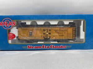 Atlas 9199-1 O 40' Wood Reefer Car Wilson's Milk #17500 (2 Rail) w/ Box
