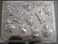 NEW! ***HALLOWEEN BITE SIZE ASSORTED*** Candy Mold