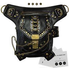Steampunk Belt Bag Waist leg Hip Holster Purse Pouch Handbag Shoulder Bag