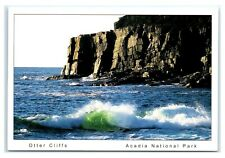Postcard Otter Cliffs, Acadia National Park, Maine Me K6