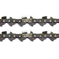 2x Sägekette 35cm 3/8 1,1 50 TG HM für Stihl Motorsäge Kettensäge Kette