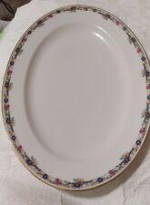 G AHRENFELDT Limoges France Depose Oval Serving Platter 12 x16 Fine China