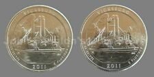 2011 P&D Vicksburg National Park Quarters 2-Coin Set - Choice BU