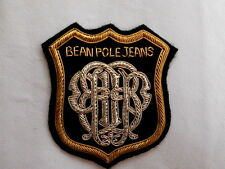 Bullion wire Bean Pole Blazer Badge with the Great hand embroidery,