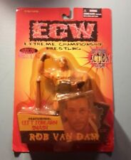 Rob Van Dam Hardcore ECW Wrestling Figure Toymakers NIP Left Forearm Smash RVD