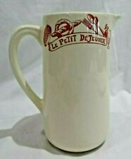 Le Comptoir De Famille Le Petit DeJeuner Pitcher Red Utensils France