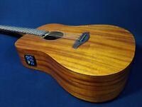 """Caraya Safair 41""""EQ Electro-Acoustic Guitar, All-mahogany+Free Bag,Picks,Strings"""