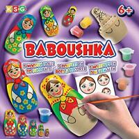 Sequin Art KSG Arts and Crafts Baboushka 0925 Russian Doll Painting Kit