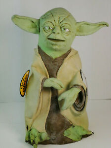 Star Wars Yoda Hand Puppet Rubber Latex Vintage 1999 Applause Lucas Films