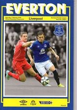 Away Teams C-E Everton Reserves Football Programmes