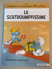 les schtroumpfs 2 le schtroumpfissime  dupuis dos rond peyo eo 1965