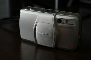Olympus Superzoom 80s Film Compact Camera Used