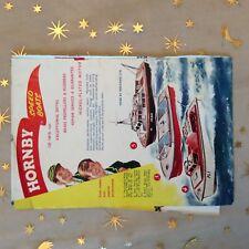 g1k ephemera vintage advert hornby speed boats meccano ltd nickel plated