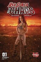 Red Sonja Age of Chaos #1 E Cosplay Variant Dynamite Comics 1st Print 2020 NM