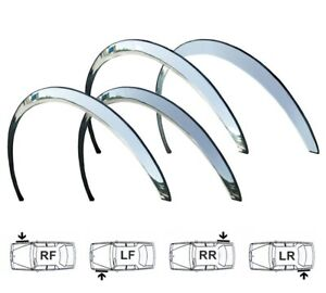 HYUNDAI IX20 Wing Quater Panel Wheel Arch Trims 4pcs Chrom Right Left Front Rear