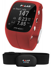 Polar M400 Red with HR Integrated GPS Running Watch Activity Tracking