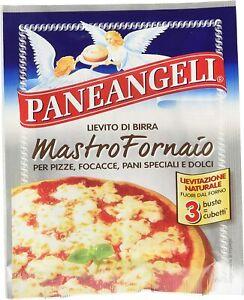 LIEVITO DI BIRRA SECCO PANEANGELI MASTRO FORNAIO PIZZA PANE ANGELI DOLCI 21g 3x7