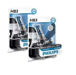 Philips HB3 WhiteVision 3700K Xenon effect 9005WHVB1 (pair)