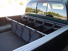 Full Size Pickup Truck Bed Organizer Pockets Storage Nylon Bag Half Ton Holder