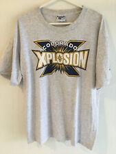 VINTAGE 90's COLORADO XPLOSION REEBOK ABL BASKETBALL XL TEE SHIRT USA