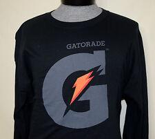 Gatorade XL Long Sleeve Black T-Shirt Extra Large Sports Drink