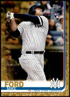 Mike Ford 2019 Topps Update 5x7 Gold #US78 RC /10 Yankees