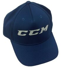 Ccm Hockey Senior/Adult Steel Blue Flex Cap/Hat Size S/M