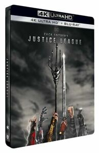 Zack Snyder´s Justice League (4K UHD + Blu-ray Steelbook) Brand New & Sealed