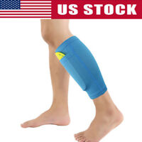 Men's Soccer Shin Pads Holder Instep Foot Sock Guard Stays Lock Sleeves S/M/L