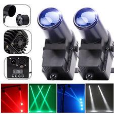 2PCS Bühnenlicht 30W LED 4in1 RGBW DMX 6CH Pinspot Strahl Party DJ Stage Lights