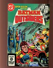BATMAN AND THE OUTSIDERS #2 with BARON BEDLAM VERY FINE PLUS