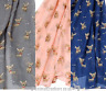 Ladies Chihuahua Scarf Sarong Blue Grey or Pink, dog lover gift stocking filler